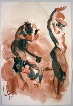 Untitled - Eric Fischl 2001/ Neo- Expressionism