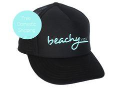 Beachy Vibe vrouwen zomer Trucker Hat Surf kleding door LiveForSun