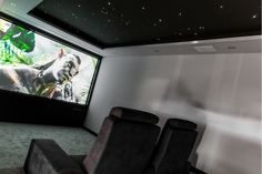 Cinema Room with starlight ceiling from Herrington Gate