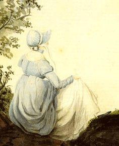 Cassandra Austen's portrait of her sister Jane