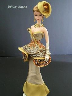 Barbie Fashion Inspiration - (Cake by Cake Creations by ME): cake to follow