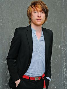 Domhnall Gleeson; Big Break in 2015: Star Wars: The Force Awaken Man! Now I have to see a Star Wars movie..lol