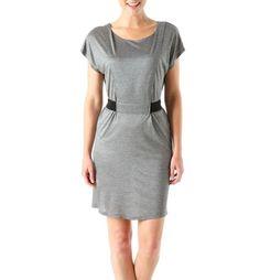 Sukienka srebrny ciemny - Promod