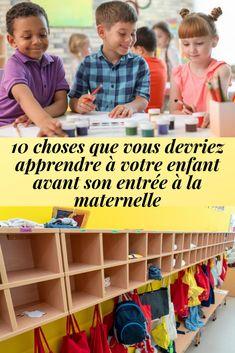 Selon les enseignants, voici ce que vos enfants en âge d'entrer à la maternelle devraient savoir. Voici, Teachers, Walk In, Homework, Tips And Tricks, Preschool, Children, Everything