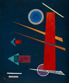 Wassily Kandinsky - Mighty Red (1928) : https://www.copia-di-arte.com/a/wassily-kandinsky/mchtigesrot.html