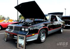 Does This 1983 Hurst Oldsmobile Look All Original? Any Admirers Of This Special G-Body? 1969 Oldsmobile Cutlass, Buick Grand National, American Muscle Cars, Classic Man, My Ride, Hot Cars, Car Pictures, Motor Car, Custom Cars