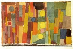 Paul Klee, In the style of Kairouan, 1914 ~~ painting, painter, artist, color, composition