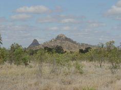 Mackay to Injune Road, Peak Range, 50km North of Clermont, Queensland, Australia