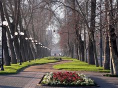 Parque Forestal,Santiago de Chile