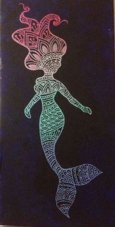 Download Free ... mermaid tattoos zentangle mermaid henna tattoos mermaid henna tattoo to use and take to your artist.