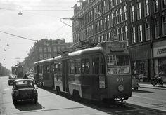 Kinkerstraat vanaf de hoek Bilderdijkstraat.