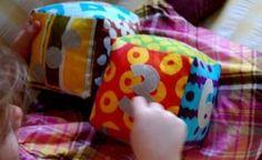 C�mo hacer cubos de tela para beb�s