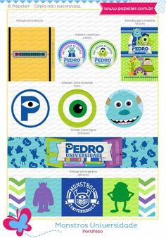 Universidade Monstros - os 5 aninhos do Pedro