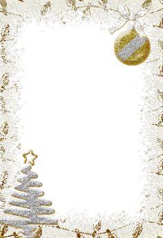 Sparkling Silver Transparent Christmas Photo Frame