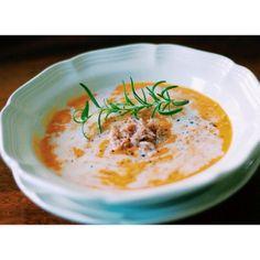 butternut crab soup