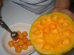 Resultado de imagem para melão recheado