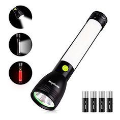 Superisparmio's Post Torcia LED  Torcia LED Flashlight Morpilot Lampada da Lavoro Multifunzionale con 7 modalità COB (5W)  XML-L2 (7W) con Luce Rossa Ideale per Casa Campeggio Riparazione Escursionismo e Emergenza 4 Batteria AAA Incluse  A solo 7.49 con coupon: DJORHL2S   http://amzn.to/2wE7DkU