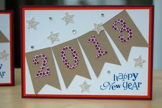 stampin up card by julie kettlewell at julies japes happy new year cards