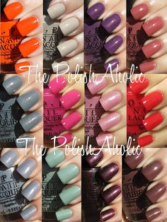 OPI's Spring 2012 Holland Collection