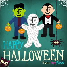 Happy #Halloween from your friends at myFace!