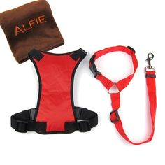 Alfie Pet by Petoga Couture - Kerry Car Vehicle Safety Seat Belt Harness with Tether and Microfiber Fast-Dry Washcloth Set * Click image to review more details. (This is an affiliate link and I receive a commission for the sales)