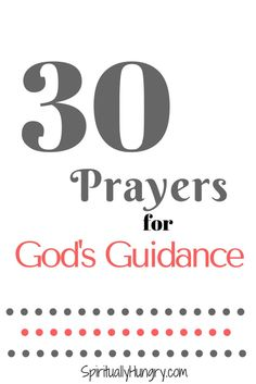 Prayer For Guidance | Prayers For Wisdom | Prayer For God's Will
