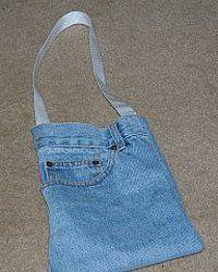 Denim Pocket Purse; also other denim bag ideas