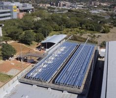 The MTN Data Centre CSP Cooling System in South Africa uses Fresnel technology