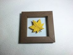 How to 3d show origami model with frame picture - PaperPh2 - YouTube