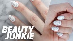 How to DIY Instagram's Biggest Nail Trend in 3 Easy Ways: Like shattered-glass nails before them, the marble manicure is the next Instagram nail trend to take over the app.