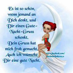Gute Nacht (von) Good Night, Good Morning, Laku Noc, Selfies, Humor, Disney Characters, Bb, Spirituality, Stress