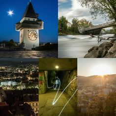 #graz Modern City, Four Square, Big Ben, Old Things, Building, Travel, Beautiful, Graz, Viajes