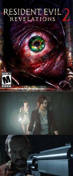 Heart-pounding survival horror returns with Resident Evil: Revelations 2 - Deluxe Edition - including all chapters and exclusive DLC content Zombie Video Games, Horror Video Games, Video Game Memes, Rain Drama, Penal Colony, Valkyria Chronicles, Leon S Kennedy, Little Big Planet, Revelation 2