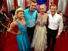 Witney,Chris,Kym and Robert. DWTS Season 20