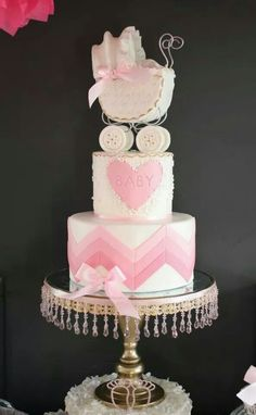 baby shower cake or first bithday cake