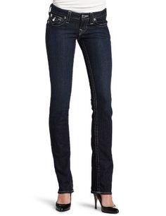 True Religion Women's Billy Straight Jean. $154