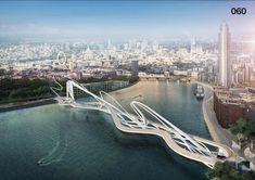Concurso para a Ponte de Battersea de Londres é o símbolo de uma cidade dividida