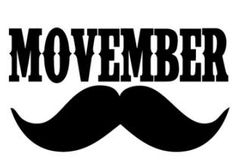 En novembre, les hommes adoptent le Movember et se laissent pousser la moustache pour s'unir contre le cancer de la prostate.