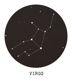 Virgo Star Constellation