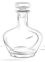 Resultado de imagen para dibujos de botellas para colorear