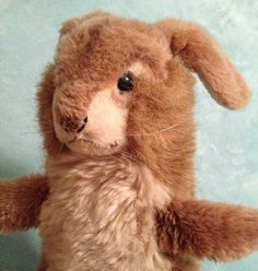 Vintage Steiff Jolly Rabbit Arm Puppet by MoonlightandMagic