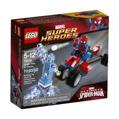 #LEGO #Superheroes #76014 Spider-Trike vs. Electro, Now $12.96, (Orig. $12.99).