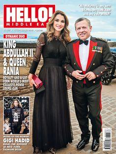 Hello! Middle East, No. 572, Sept 2016 https://www.instagram.com/hellomagme/#QueenRania #KingAbdullah #JordanianRoyals