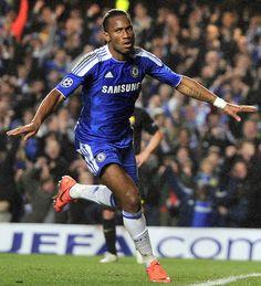 Didier Drogba, Chelsea FC striker from Cote d'Ivoire