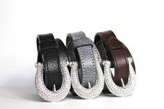Crystal horse shoe belts and bracelets
