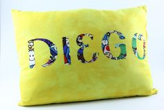 Personalized Pillow Throw