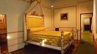 Camera da letto di Napoleone alla villa dei mulini all'Elba