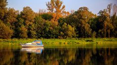 The Narev river. Masovia, Poland.