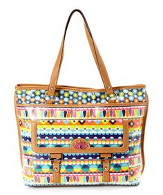 Look at this Blue Piccadilly Circus Tote on #zulily today!