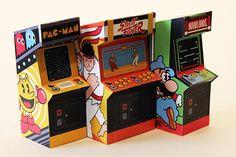 it8Bit — Papercraft Arcade Miniatures   Created byJacob...